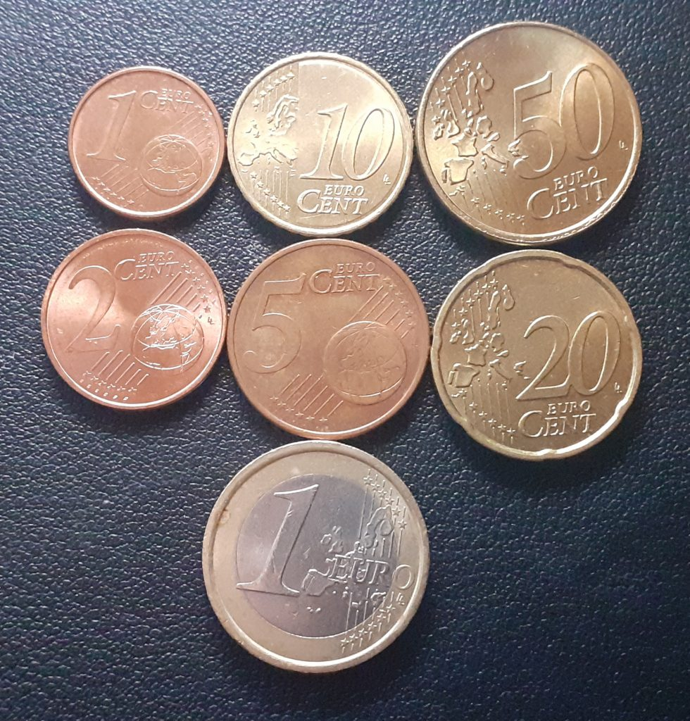 Euro Coins Front